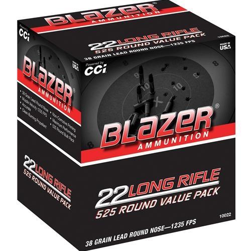 CCI Blazer 22 LR 38 Gr LRN (525)