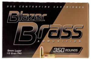 CCI Blazer Brass 9MM 115 Gr FMJ (350)