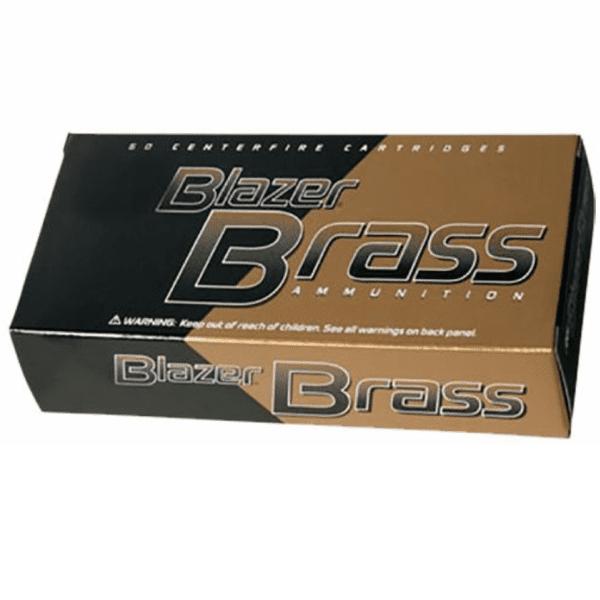 CCI Blazer Brass 40 S&W 165 Gr FMJ-FN (50)