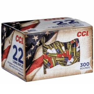 CCI 22 LR 40 Grain Lead Round Nose High Velocity Patriot Pack (300)