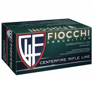 Fiocchi Ammunition 223 Rem 55 Gr V-Max (50)