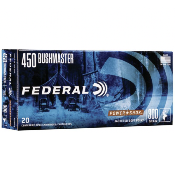 Federal 450 Bushmaster 300 Gr Power-Shok SP (20)