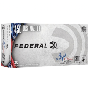 Federal 450 Bushmaster 300 Gr Non-Typical SP (20)