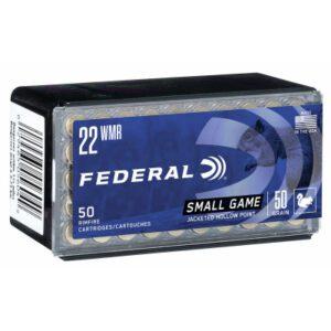 Federal 22 WMR 50 GR Game-Shok JHP (50)