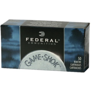 Federal 22 WMR 50 GR Game-Shok JHP (50)
