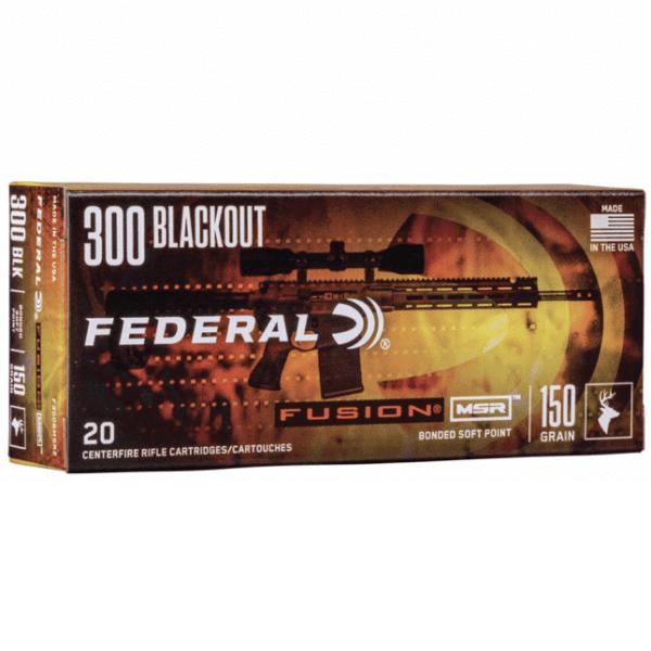 Federal 300 Blackout 150 Gr Fusion (20)