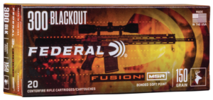 Federal 300 Blackout 150 Gr Fusion (20)