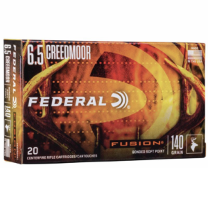 Federal 6.5 Creedmoor 140 Gr Fusion (20)
