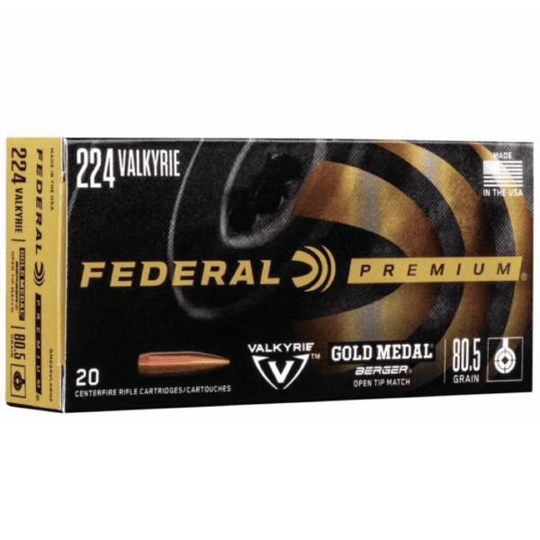Federal 224 Valkyrie 80.5 Gr Gold Medal Berger (20)