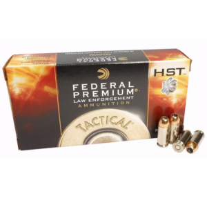 Federal Prem 40 S&W 165 Gr JHP HST (50)