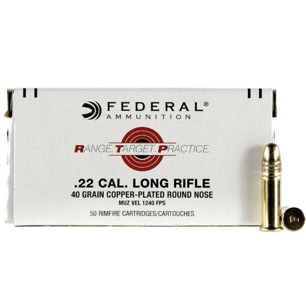 Federal 22 LR 40 Gr CPRN RTP (50)