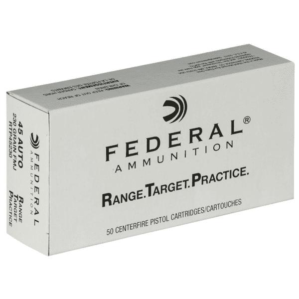 Federal 45 ACP 230 Gr FMJ RTP (50)