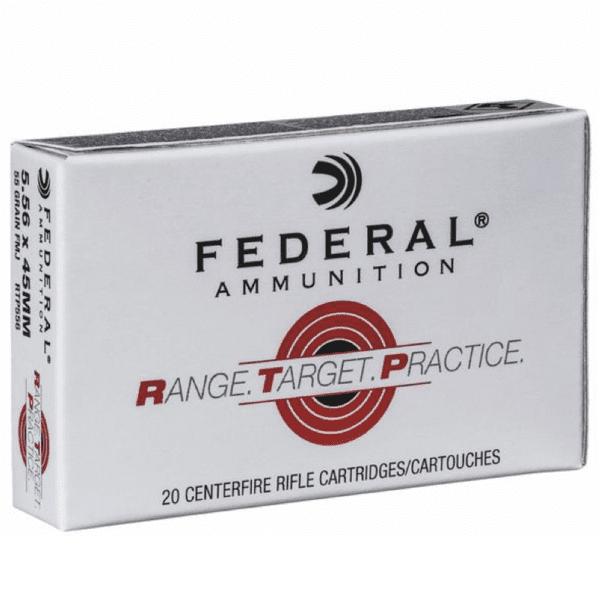Federal 5.56 55 Gr. FMJ RTP (20)