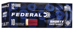 Federal 12 Gauge Shorty Shell 1 3/4 Inch 8 Shot (10)