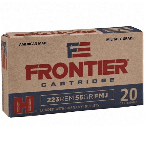 Frontier 223 Rem 55 Gr Hornady Full Metal Jacket (M193) (20)