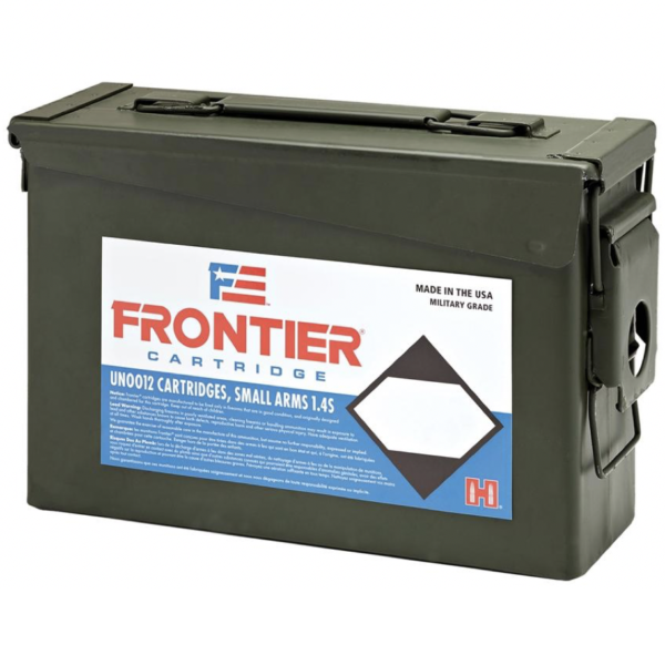 Frontier 223 Rem 55 Gr Hornady Full Metal Jacket (M193) (500) Ammo Can