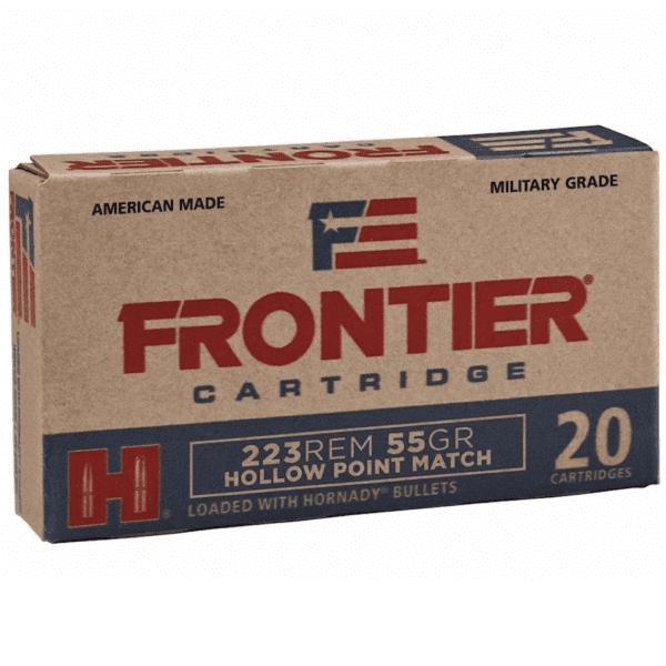 Frontier 223 Rem 55 Gr Hornady Hollow Point Match (20)
