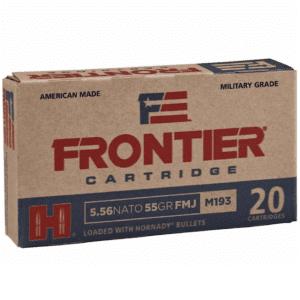 Frontier 5.56 Nato 55 Gr Hornady Full Metal Jacket (M193) (20)