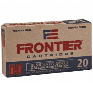 Frontier 5.56 Nato 55 Gr Hornady Hollow Point Match (20)
