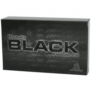 Hornady 300 Blackout 208 Grain A-MAX Subsonic Black (20)