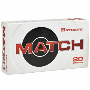 Hornady 308 Win 168 Grain ELD-M (Extremly Low Drag) (20)