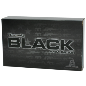 Hornady 5.56 Nato 62 Grain Full Metal Jacket Black (20)