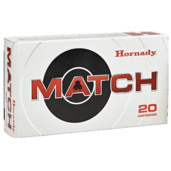 Hornady 6mm Creedmoor 108 Grain ELD-M (Extremly Low Drag) Match (20)