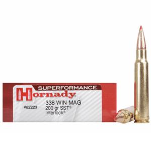 Hornady 338 Win Magnum 200 Grain SST (Super Shock Tip) Superformance (20)