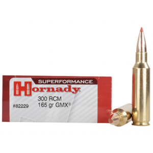 Hornady 300 RCM 165 Grain GMX (MonoFlex) Superformance (20)