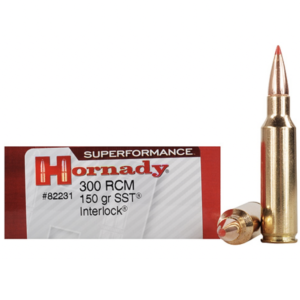 Hornady 300 RCM 150 Grain SST (Super Shock Tip) Superformance (20)