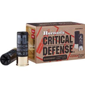 Hornady 12 Ga 00 Buckshot Critical Defense (10)