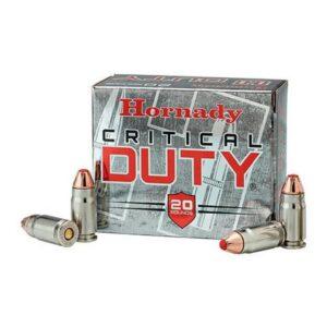 Hornady 357 Sig 135 Gr Critical Duty FlexLock (20)