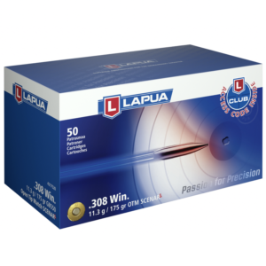Lapua 308 175 Grain Scenar-L Open Tip Match (50)