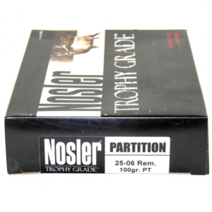 Nosler 25-06 Rem 100 Grain Partition (20)