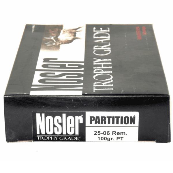 Nosler 25-06 Rem 100 Grain Partition (20)