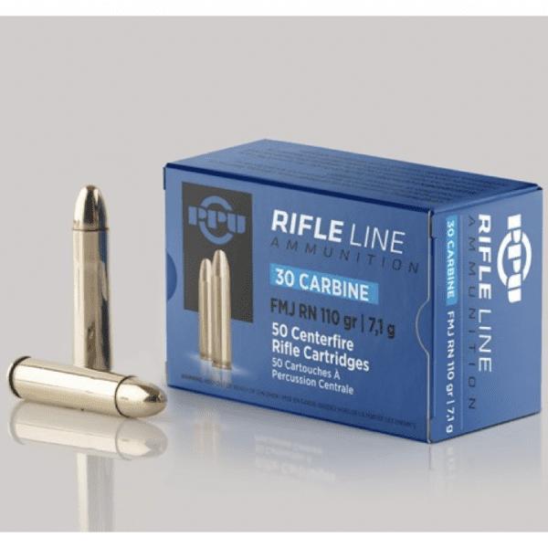 Prvi 30M1 Carbine 110 Grain Full Metal Jacket Round Nose(50)