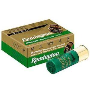 "Remington 12 Ga 3.5"" 4 Shot Copper-Plated Premier Magnum Turkey Load (10)"