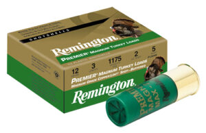 "Remington 12 Ga 3"" 4 Shot Copper-Plated Premier Magnum Turkey Load (10)"