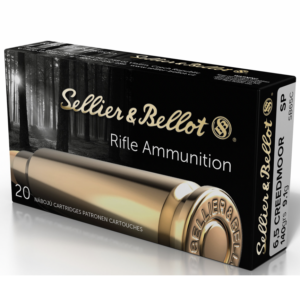 Sellier & Bellot 6.5 Creedmoor 140 Gr SP (20)