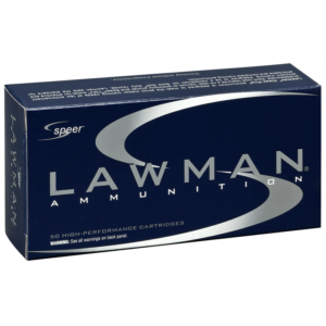 Speer 9MM 124 Gr TMJ Lawclean (50)