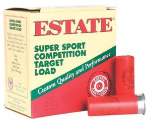 Estate 12 Gauge 1 1/8 Oz #8 2 3/4″ 3DR Super Sport (25)