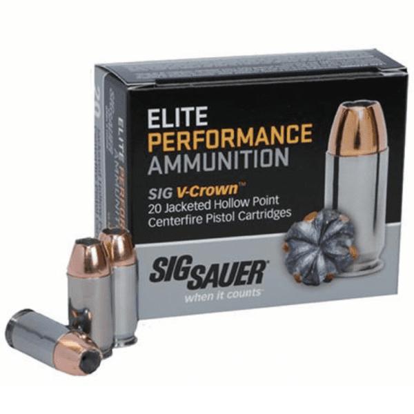 Sig Sauer 45 Colt 230 GR JHP V-Crown (20)