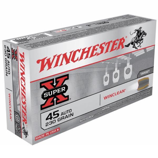 Winchester 45 ACP 230 Gr WinClean FMJ (50)