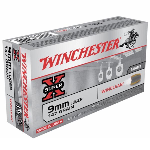 Winchester 9mm 147 Gr WinClean FMJ (50)