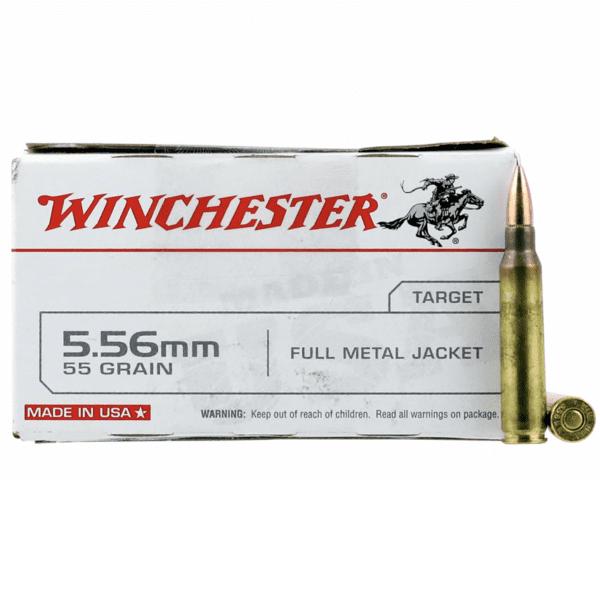Winchester 5.56 55 Gr FMJ (20)