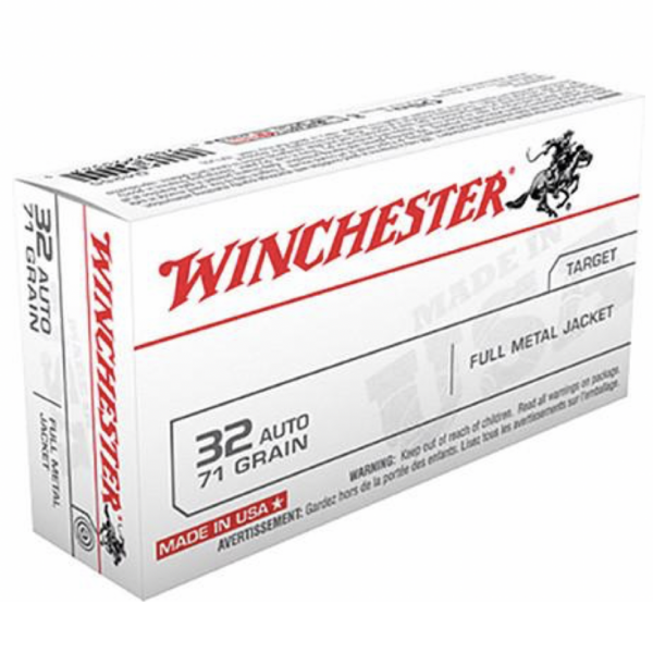 Winchester 32 ACP 71 Gr FMJ (50)