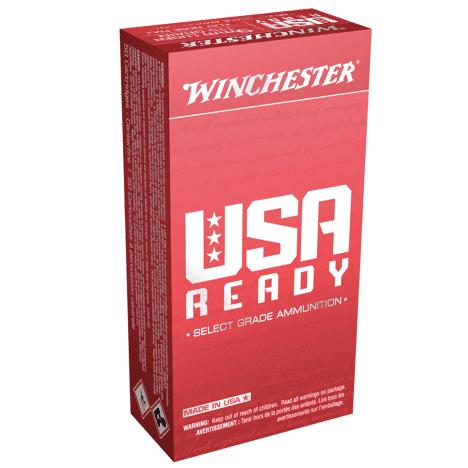 Winchester 9mm 115 Grain Full Metal Jacket Flat Nose (50)