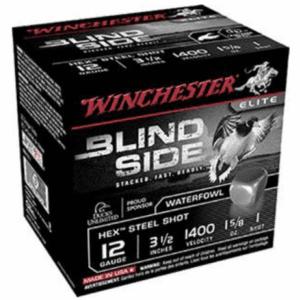 """Winchester 12 Gauge 3.5"""" 1-5/8 oz 1 Shot Blindside (25)"""