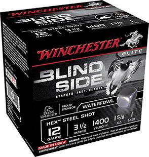 "Winchester 12 Gauge 3.5"" 1-5/8 oz 1 Shot Blindside (25)"