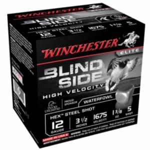 """Winchester 12 Gauge 3.5"""" 1-3/8 oz 5 Shot Blindside (25)"""